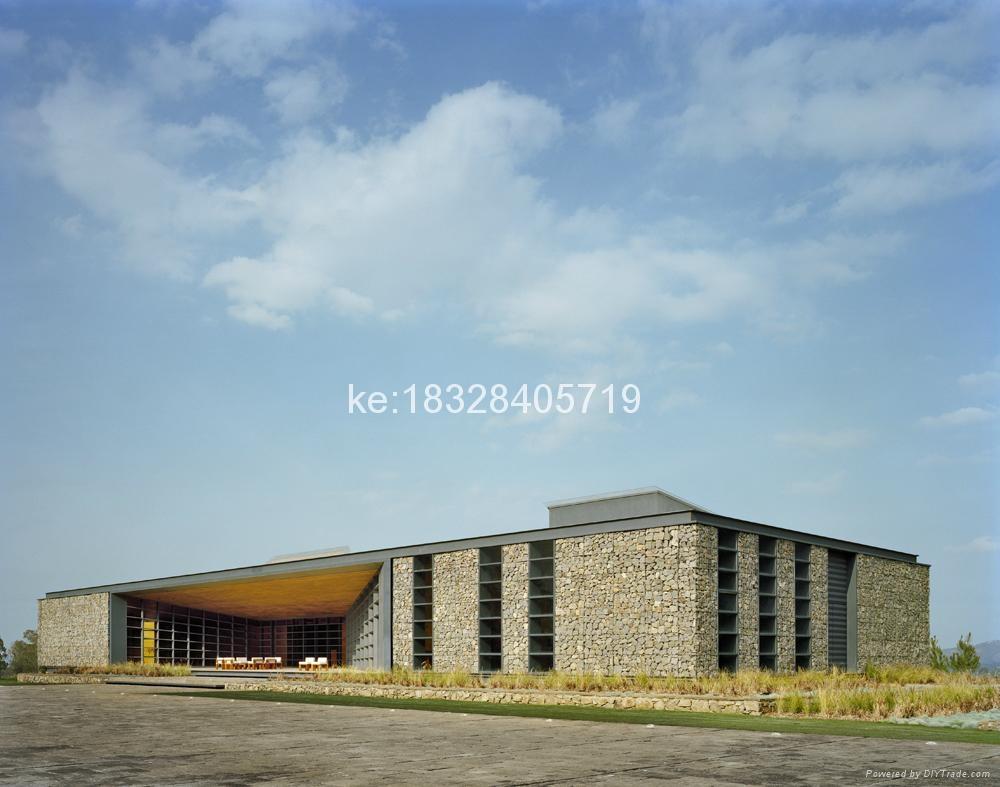 2016 China ga  anized hexagonal mesh residential gabion basket 5
