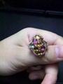 925纯银镶嵌款碧玺戒指 3