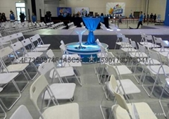 上海出租白色折叠椅