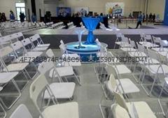 上海出租白色折疊椅