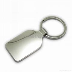 空白钥匙扣