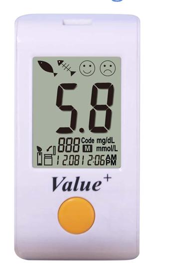 blood sugar testing machine Glucoleader value glucose meter 3