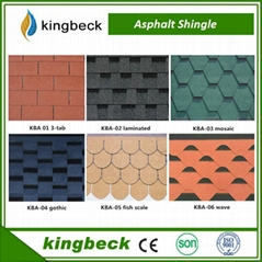 Kingbeck stone coated asphalt shingle