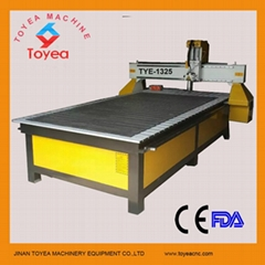high precision pneumatic tool changer air cooling cnc router woodworking machine