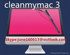 CleanMyMac3 for Mac system cleaning tools software CMM3 key support multi - lang