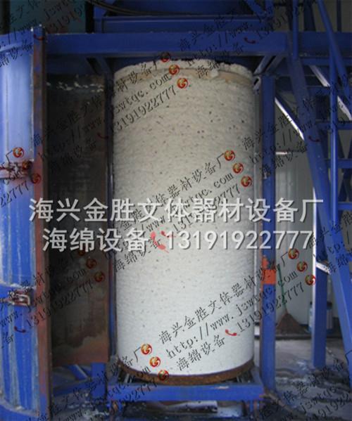 圆泡再生海绵地毯衬垫生产设备 4