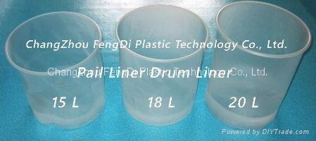 Vacuum-Formed Polyethylene Pail Liners 14