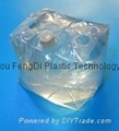 Cube-shaped fitment bag 5L to 25L