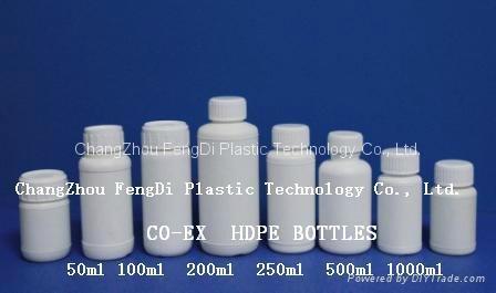CO-EX Plastic bottles 1