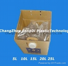 Bag-In-Box Packaging For Chemicals and Detergents