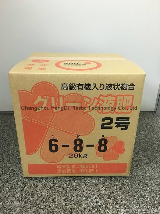 Chntainer bag-in-box for Liquid fertilizers Packaging 7