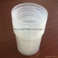 Plastic and steel pail liners