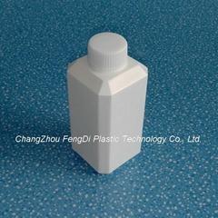 250ml square plastic chemical reagent bottle