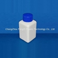 Square Laboratory Reagent HDPE Bottles