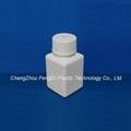Square Laboratory Reagent HDPE Bottles