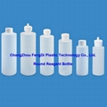 100ml cylinder Round Narrow Mouth HDPE bottle