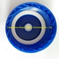 vented cap blue color