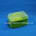 PP Plastic Rectangle Shaped Household Storage Box 6