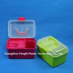 PP Plastic Rectangle Shaped Household Storage Box