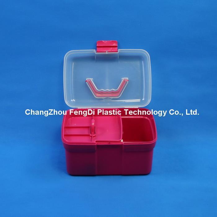 PP Plastic Rectangle Shaped Household Storage Box 4
