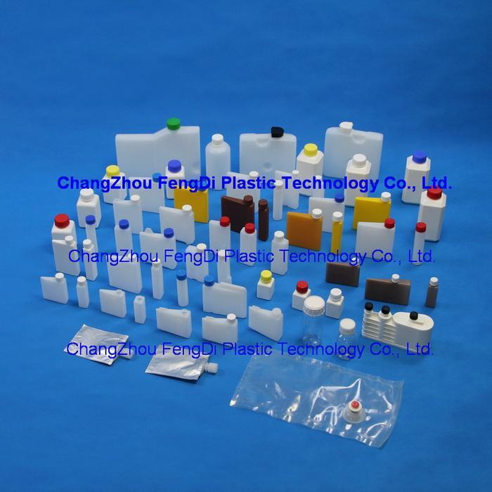 biochemistry reagent bottles HDPE