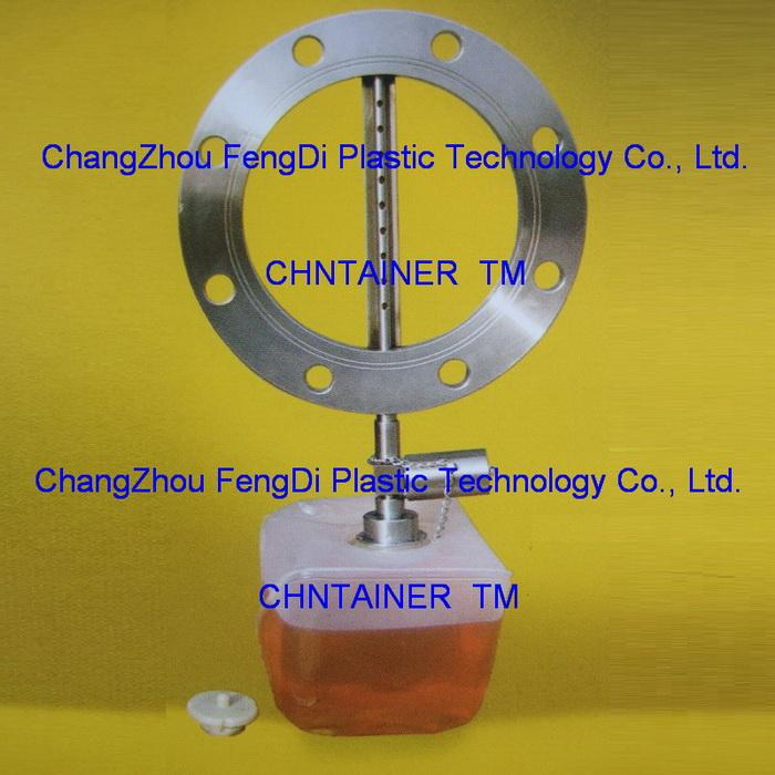 drip flange sampler with sampling cubitainer 5L
