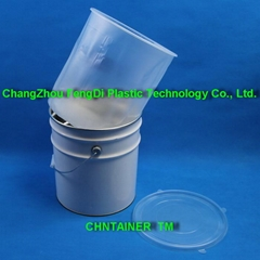 Plastic and steel pail l (Hot Product - 1*)