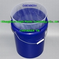Vacuum-Formed Liners for Plastic Pail