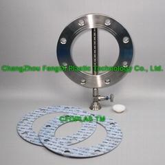 drip line sampler DN200 flange type