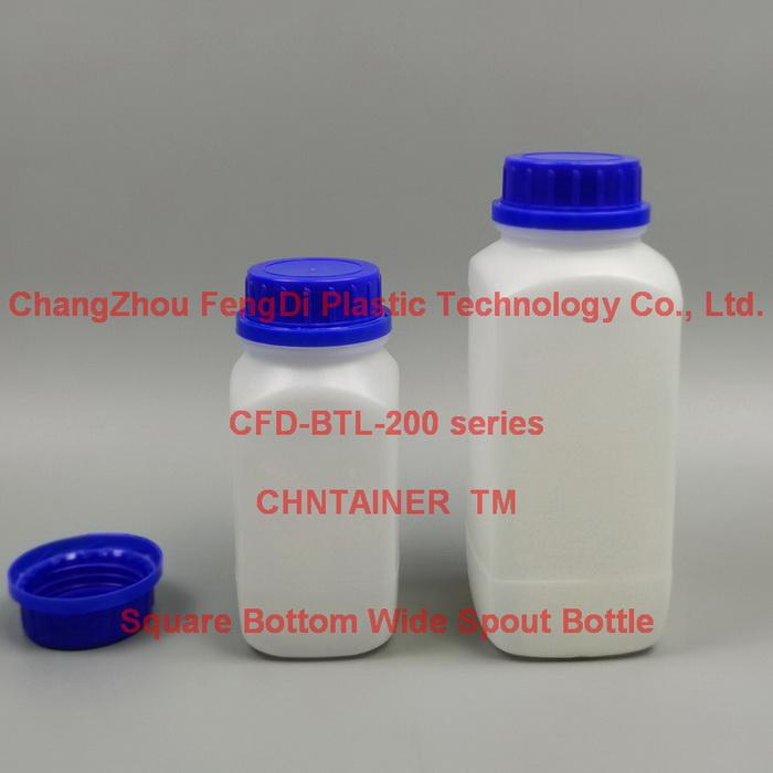 大口藍蓋方底塑料試劑瓶60ml-2000ml 4