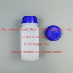 大口蓝盖方底塑料试剂瓶60ml-2000ml