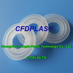 Molded Elastomeric silicone rubber Diaphragms