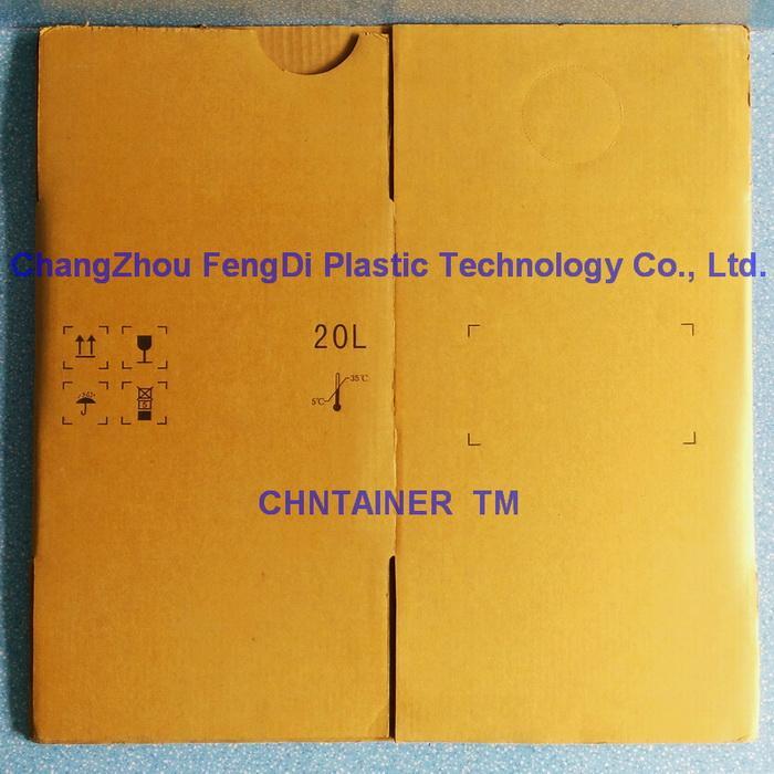 Cubitainer Fiberboard Corrugated Outer Carton 4