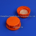 61mm tamper evident cap with molded inner plug