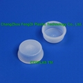 PE Inner hollow tapered round cover plug for plastic Jerry Cans