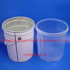 Steel Pail Liner 5 Gal.with shaped contoured lip