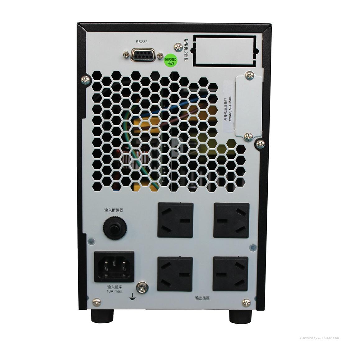 雷迪司G2KL 2KVA在線式UPS不間斷電源1600W延長自動開關機 1