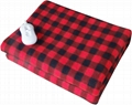 Soft Coral Polar Fleece Electric Heating Underblanket with CE GS certificate 4
