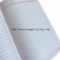 PP cover staple binding Arabic ruled exercise book diary 2