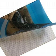 17x22cm seyes cahier  french line exercise book PP cover with round corner stapl