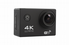 4K Wifi Extreme Sports Action Camera With Waterproof