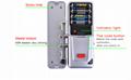 433mhz Wireless Hidden Door Lock For Access Control Security System 2
