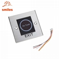 Factory Price 12V Touchless Door Exit Release Button Infrared Light Switch