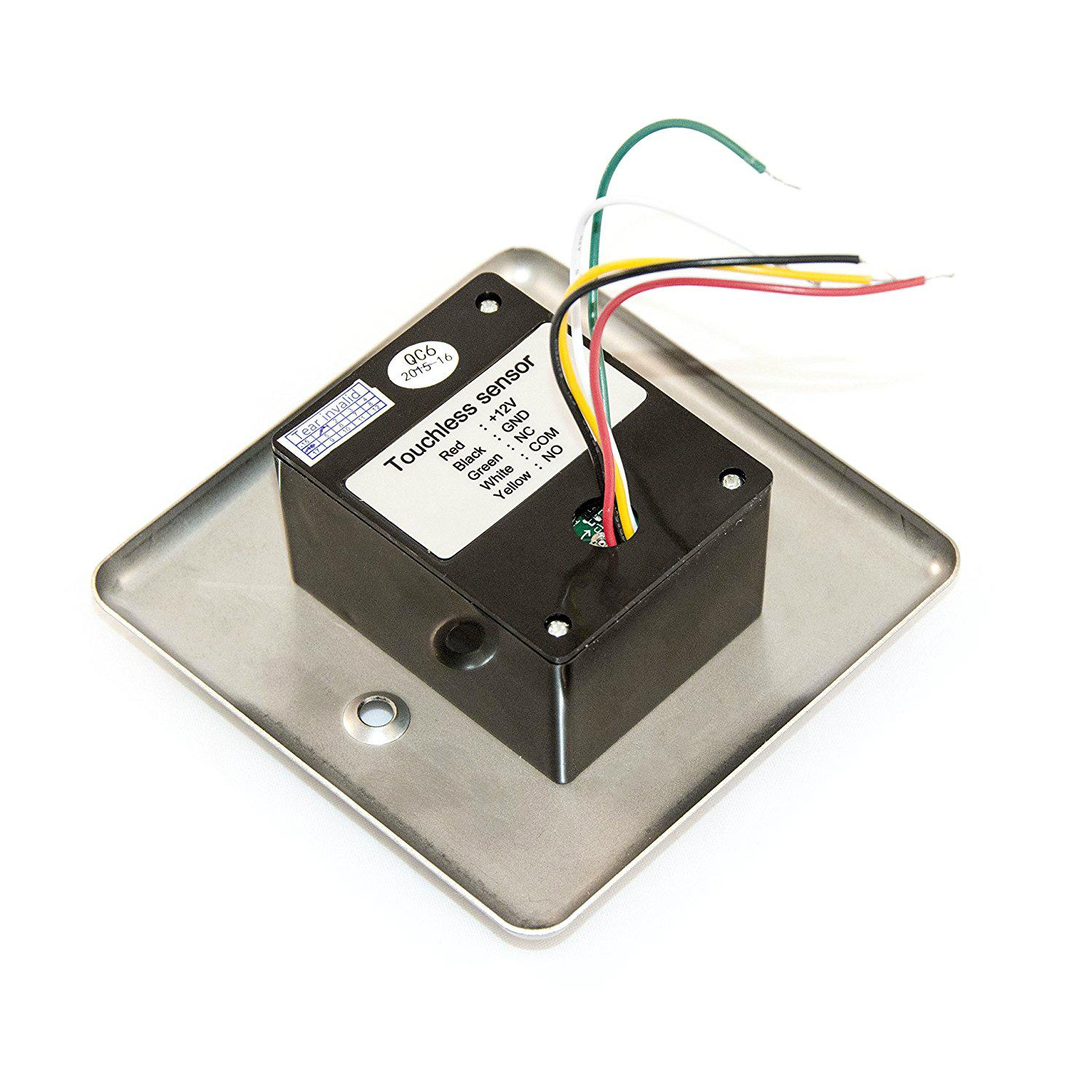 Factory Price 12V Touchless Door Exit Release Button Infrared Light Switch  3