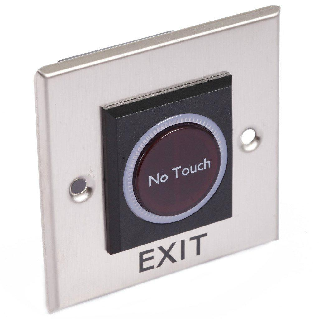 Factory Price 12V Touchless Door Exit Release Button Infrared Light Switch  4