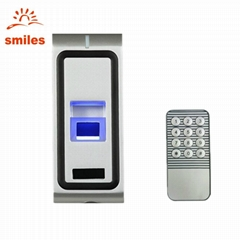 Metal Case Biometric Fingerprint Scanner With RFID Card For Access Control