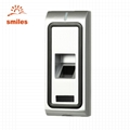 Metal Case Biometric Fingerprint Scanner With RFID Card For Access Control 2