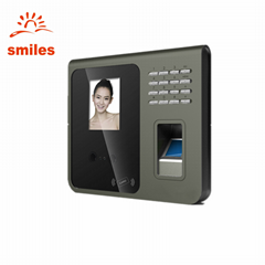 TCP/IP Face Recognition And Fingerprint Scanner Attendance Security Machine