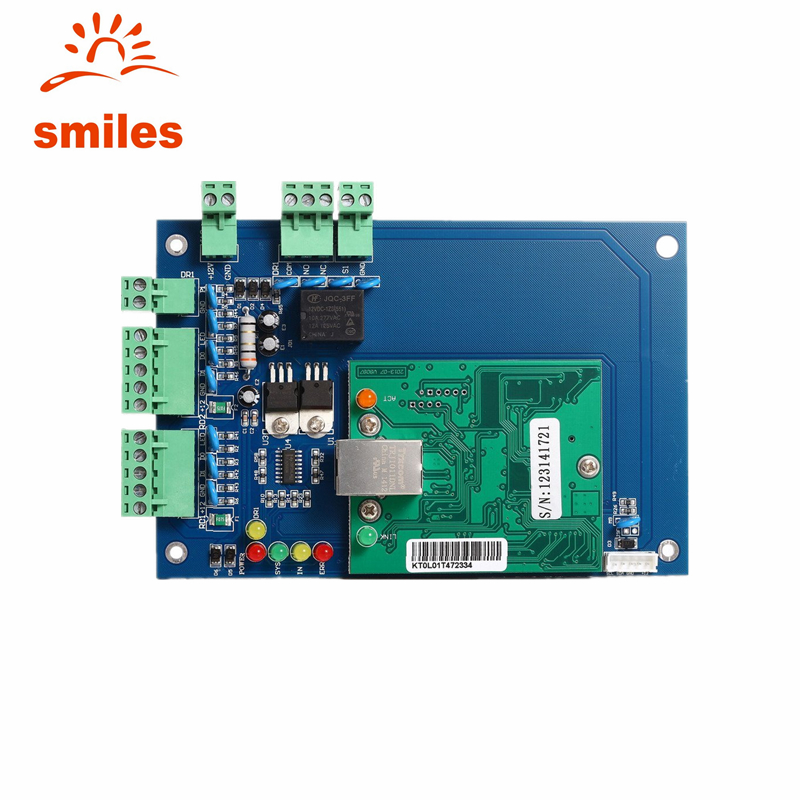 TCP/IP Network Access Control Board For Single door With One Relay 2