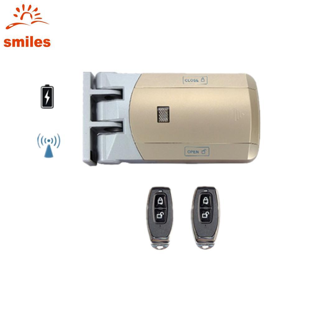 Easy Installation 433MHz Wireless Door Lock Include Remote Contro 1